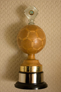 Top Administrator Trophy - North Devon League