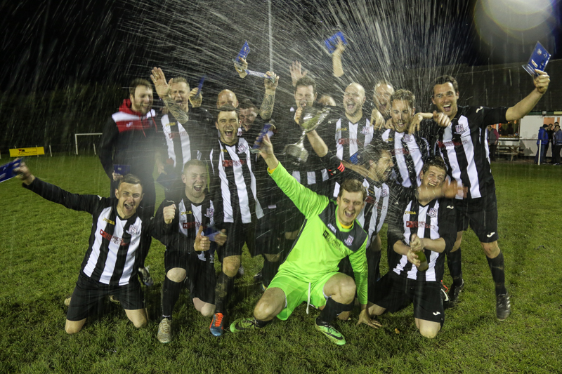 Fremington Reserves FC - North Devon Journal Cup Winners 2015-16