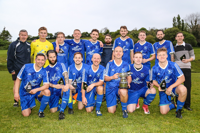 Ilfracombe Town Reserves FC - Combe Martin Cup Winners