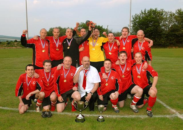 Photo: Anchor FC Winners Inter II and NDJ Cup 2007/08