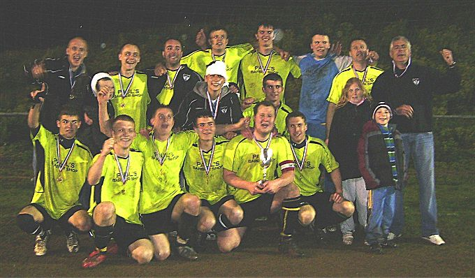 Photo: Equalizers FC Winners Arlington Cup 2007/08