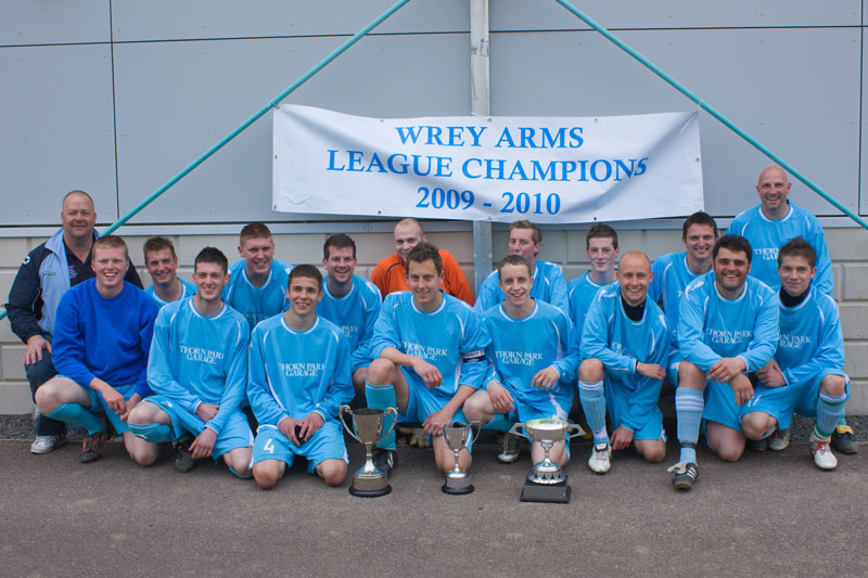 Wrey Arms - Intermediate II Champions 2010